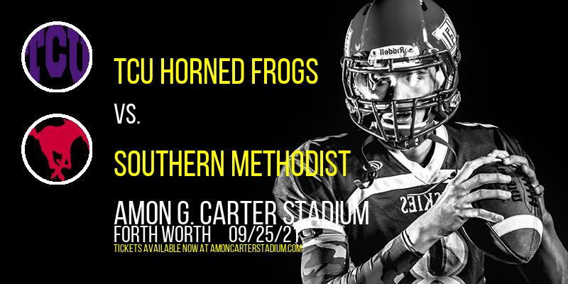 TCU Horned Frogs vs. Southern Methodist (SMU) Mustangs at Amon G. Carter Stadium