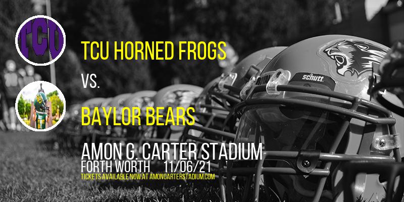 TCU Horned Frogs vs. Baylor Bears at Amon G. Carter Stadium